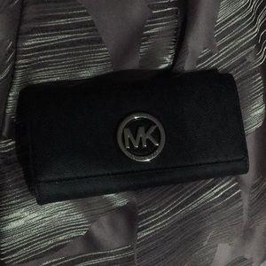 Mk leather wallet